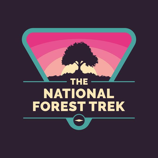 National Forest Trek Logo