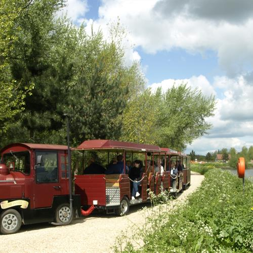 Land Train by the Tame - Credit National Memorial Arboretum