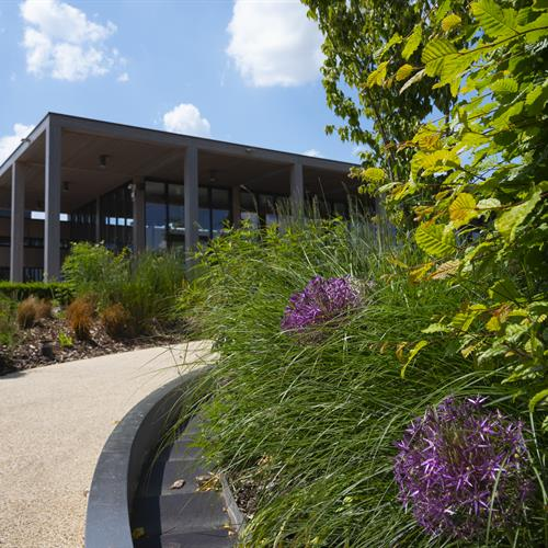 Remembrance Centre from Boyes Garden