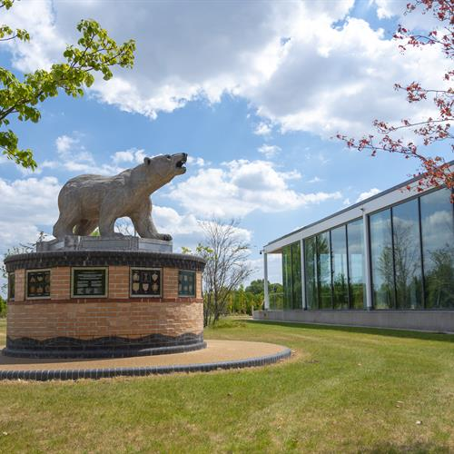 Aspects Event Building and Polar Bear Memorial