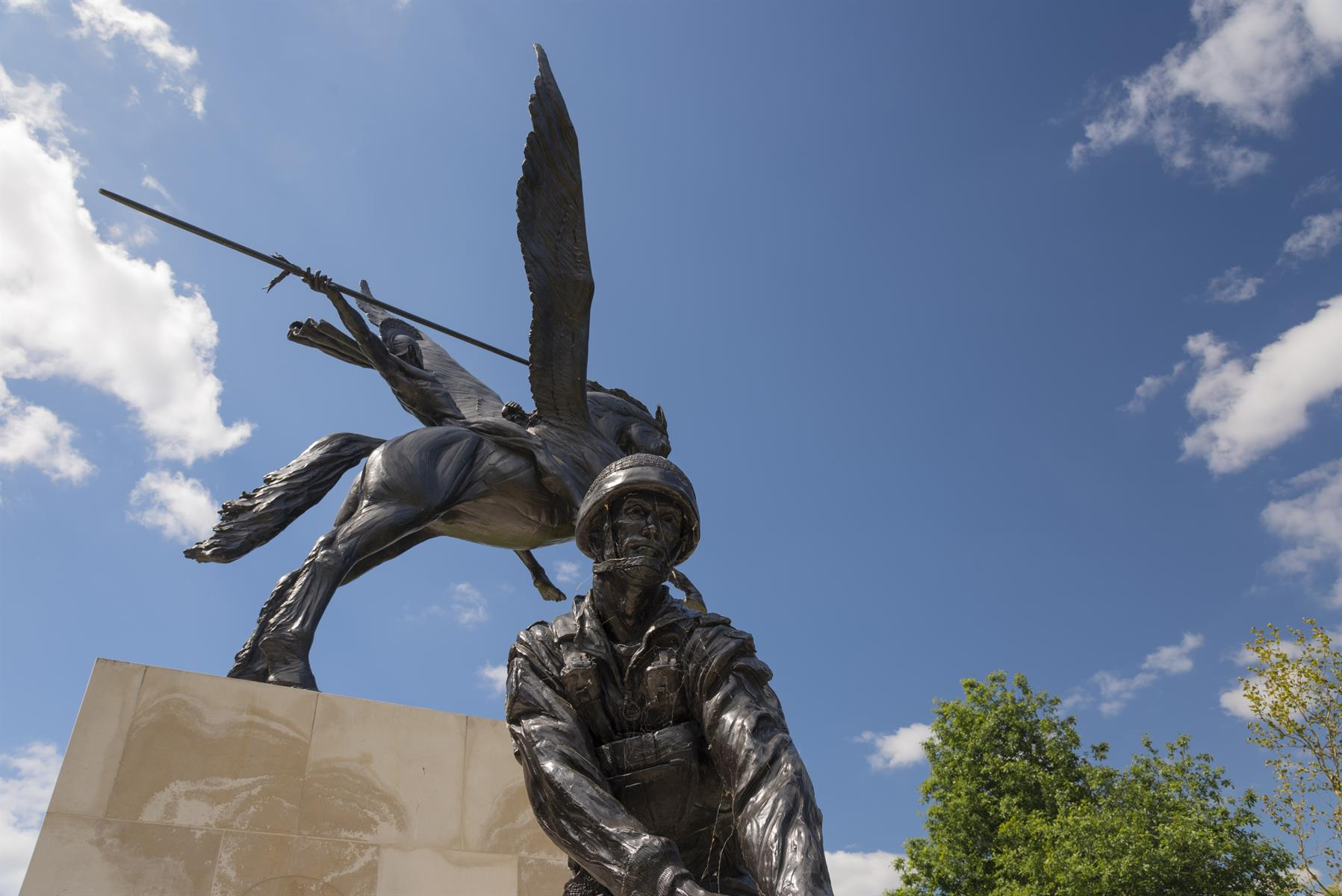 Image of the Parachute Regiment and Airborne Forces Memorial