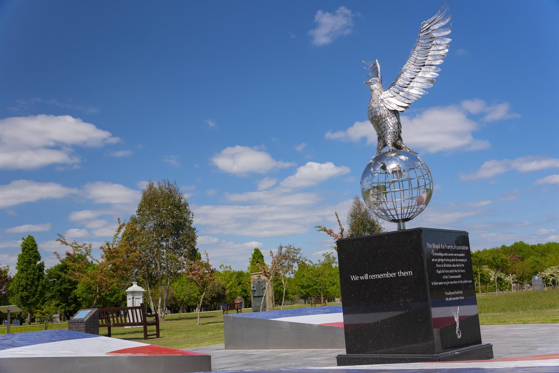 Image of Royal Air Forces Memorial Garden Eagle