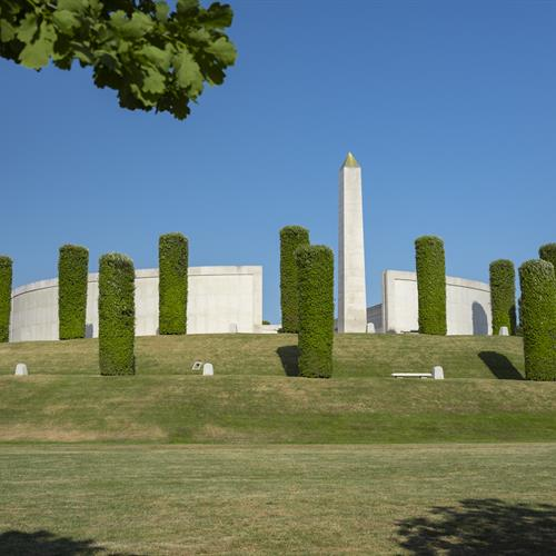 Armed Forces Memorial from Rear