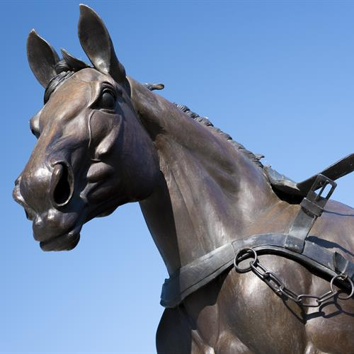 Free Spirit Horse Memorial Bronze Sculpture