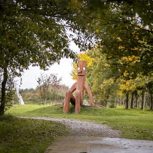 Stick Man Sculpture